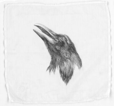 Constance Edwards Scopelitis, 'God Is In Clean Laundry: Raven', 2019