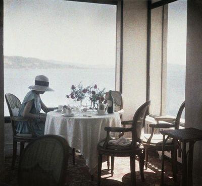 Jacques Henri Lartigue, 'Bibi au Restaurant d'Eden Roc Cap d'Antibes', 1920