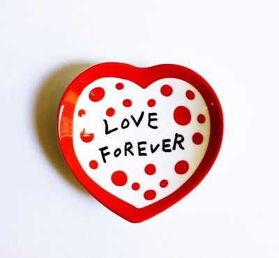 Yayoi Kusama, 'Love Forever Ceramic Bowl', 2017