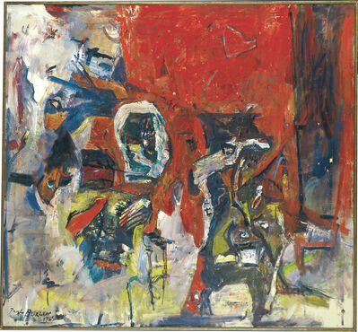 Paul Burlin, 'Red Red Not the Same II', 1962