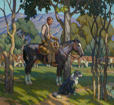 """Tim Solliday, '""""Shady Pastures""""'"""