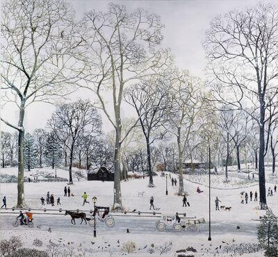 Emma Haworth, 'Central Park Snow', 2016