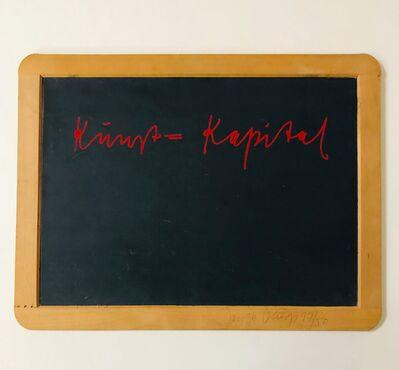 Joseph Beuys, 'Kunst = Kapital', 1980