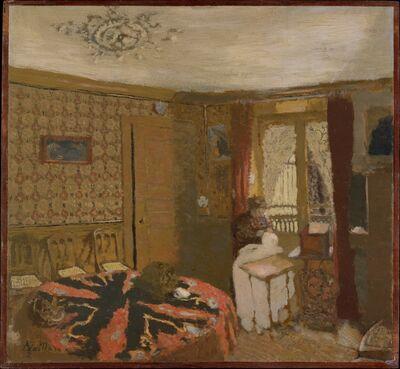 Édouard Vuillard, 'Mme Vuillard Sewing by the Window, rue Truffaut', ca. 1899