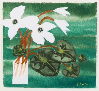 Mary Fedden, 'Still Life with Lillies.'