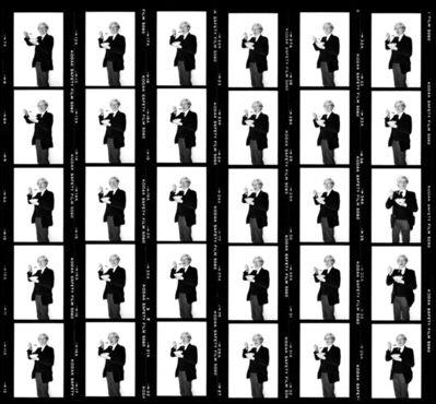 Bobby Grossman, 'Andy Warhol - Corn Flakes Contact Sheet', 1978