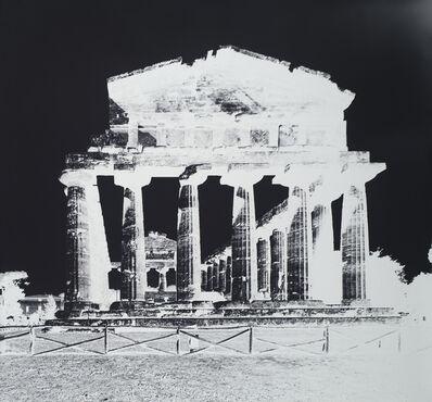 Vera Lutter, 'Temple of Athena, Paestum, IX: October 12, 2015', 2015