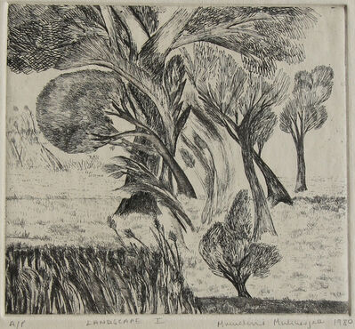 Mrinalini Mukherjee, 'Landscape I', 1980