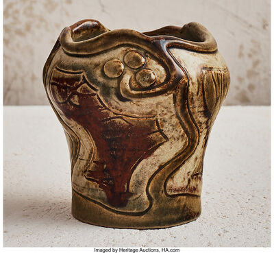 Raoul Lachenal, 'Curving Vine Vase', 1904