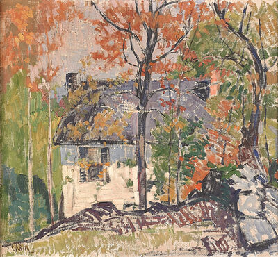 Ernest David Roth, 'Untitled (House in Landscape)'