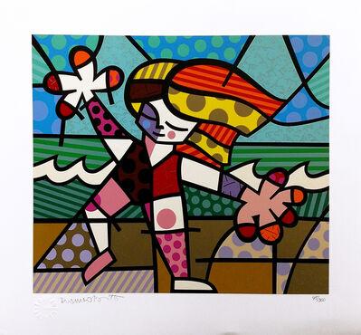 Romero Britto, 'GOLDEN BEACHES', 1996