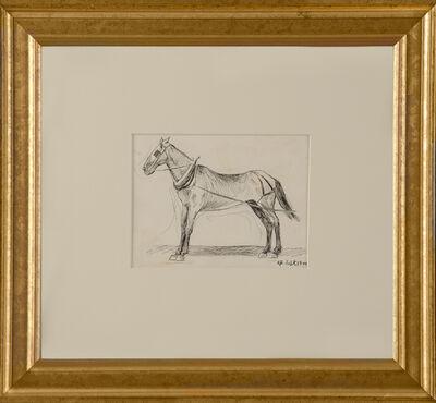 Edward Hopper, 'Working Horse', 1900