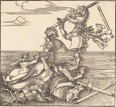 Albrecht Dürer, 'Italian Joust', Probably 1526