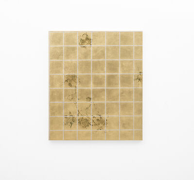 Pierre Vermeulen, 'Hair orchid sweat print, aluminium grid', 2018