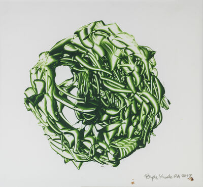 Bryan Kneale, 'Dark Green Sphere', 2018