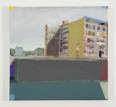 """Merlin James, 'Untitled """"Waterside Buildings""""', 2008"""