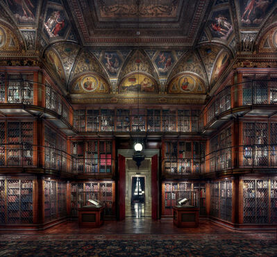 Christian Voigt, 'Morgan Library III - Museum Edition', 2018