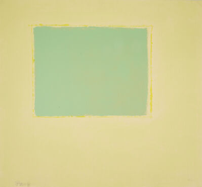Theodoros Stamos, 'Green Sun Box', 1971
