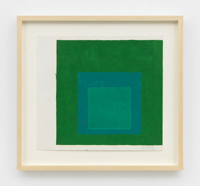 Josef Albers, 'Study for screenprint EK (Edition Keller) If', c. 1970