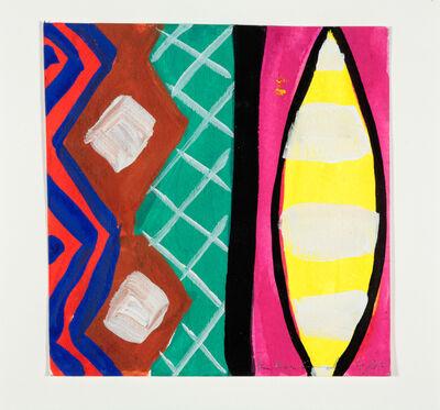 Kim MacConnel, 'Woman with Mirror. (Canvas #20)', 2007