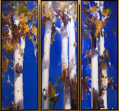 Ken Knight, 'White Gums Triptych', ca. 2019