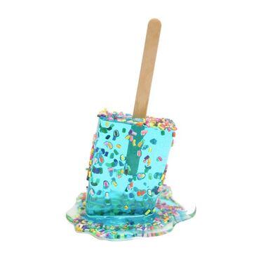 Betsy Enzensberger, 'Aqua Sprinkle Pop #4', 2021