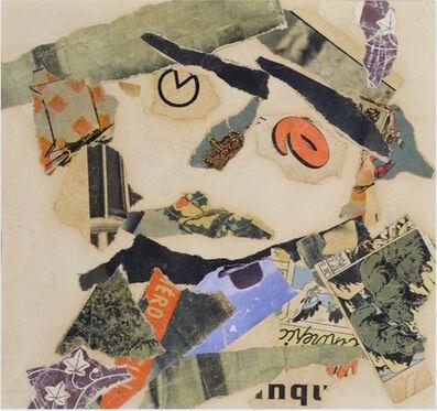 Gaston Chaissac, 'Composiiton à une tête', 1955