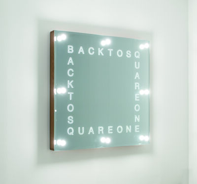 Iván Navarro, 'Back To Square One', 2018