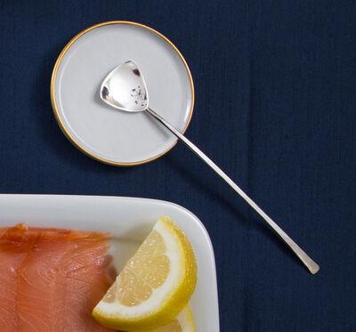 Kaminer Haislip, 'Sounding Series Appetizer Spoon', 2016-2018