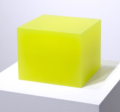 Peter Alexander, '5/1/12 Flo Yellow Block', 2012