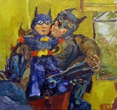 Jenny Toth, 'Two Batmans', ca. 2018
