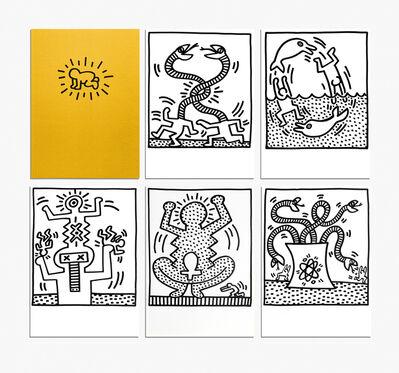 Keith Haring, 'Amelio Complete Portfolio (29 Lithographs)', 1983
