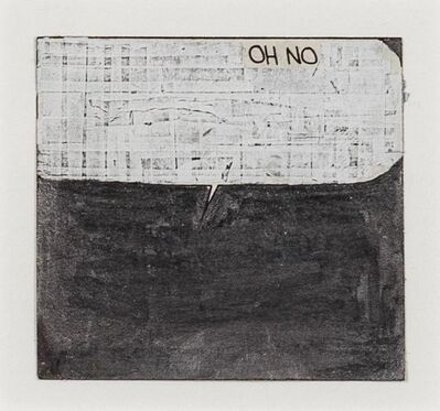 Tony Lewis, 'Untitled (Oh No)', 2017
