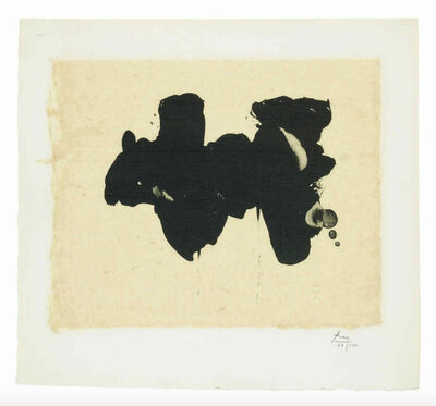 Robert Motherwell, 'Alberti Elegy', 1982
