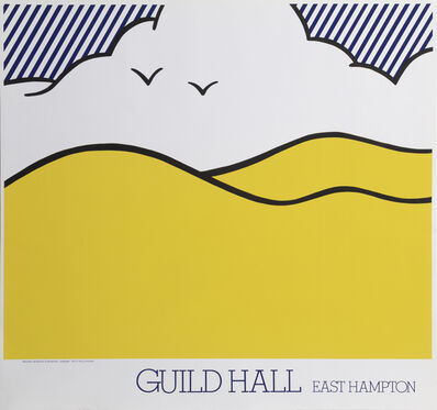 Roy Lichtenstein, 'Landscape, Guild Hall, East Hampton', 1980