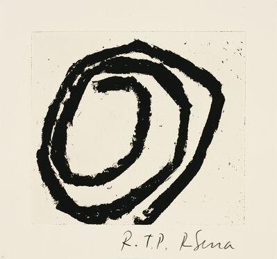 Richard Serra, 'Venice Notebook #5', 2002