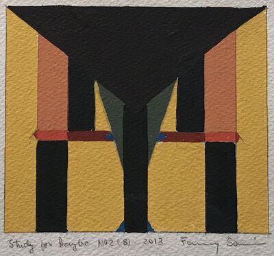 Fanny Sanin, 'Study for a Painting No. 2 (8)', 2013