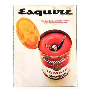 "Andy Warhol, '""The Final Decline and total Collapse of the American Avant-Garde"", Esquire Magazine - May 1969', 1969"