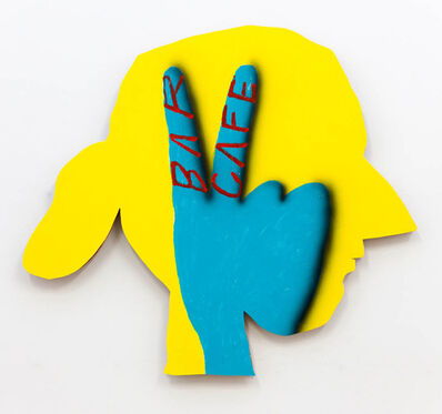 "James English Leary, '""Multiple Interpretation Painting (Yellow Head)""', 2016"