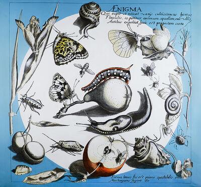 Charlotta Janssen, 'Botanical Mural #2', 2019