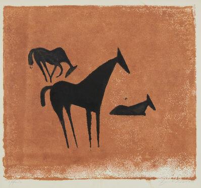 Ewald Mataré, 'Drei Pferde (Three Horses)', 1932 -1933