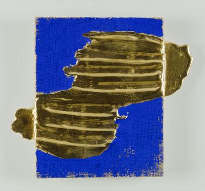 "Nancy Lorenz, '""Red Gold Relief""', 2015"
