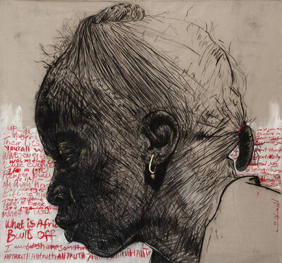 Nelson Makamo, 'DON'T THINK', 2021