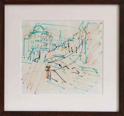 Frank Auerbach, 'Sketch for Camden Theatre', 1979