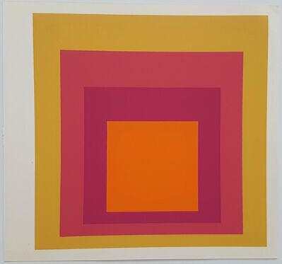 Josef Albers, 'Homage to the Square: La Tehuana', 1977
