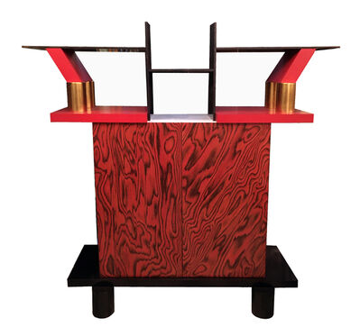 Ettore Sottsass, 'A very rare 'Freeemont' bookcase', 1985