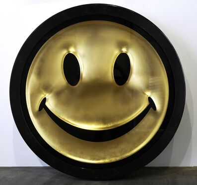 Ryan Callanan (RYCA), 'Metric Power Pill (Gold Leaf Smiley Face)', 2020