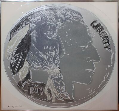 Andy Warhol, 'Indian Head Nickel (FS II.385)', 1986