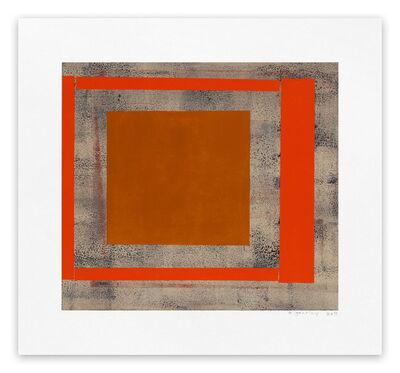 Elizabeth Gourlay, 'Ochre red ash', 2013