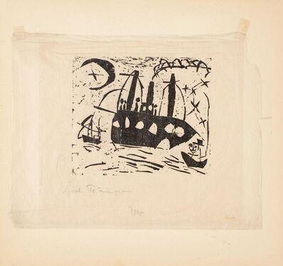 Lyonel Feininger, 'Fröliche Schiffsreise (Happy Boat Ride)', 1925